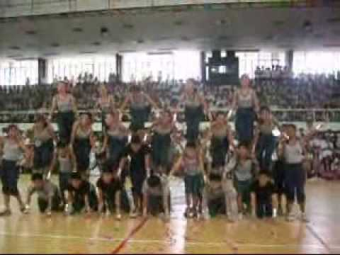 Mhs Cheerdance at Rizal High School Main Nov2007
