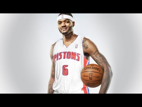NBA 2K13 - Josh Smith First Detroit Pistons Practice