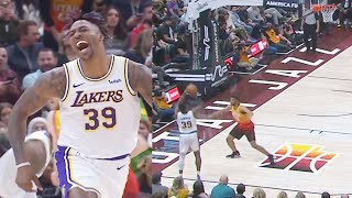 Dwight Howard Turns Into Stephen Curry But Just For One 3 Pointer! Lakers vs Jazz 2019 NBA Season