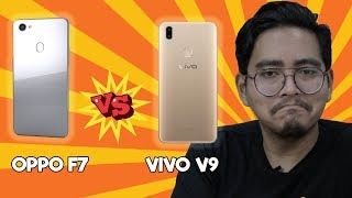 Perbandingan Oppo F7 & Vivo V9