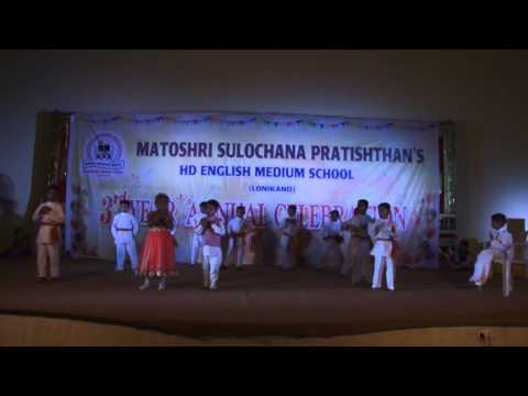 Mujhe Maaf Karna Om Sai Ram - Hd English Medium School Gathering Dance - 2014-15 video