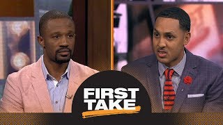 Jimmy Butler done with Timberwolves and Karl-Anthony Towns? | First Take | ESPN