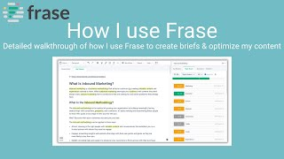 Download lagu Frase Demo - How to use Frase.io (with real world examples)