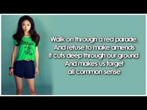 Glee - Clarity (Lyrics)