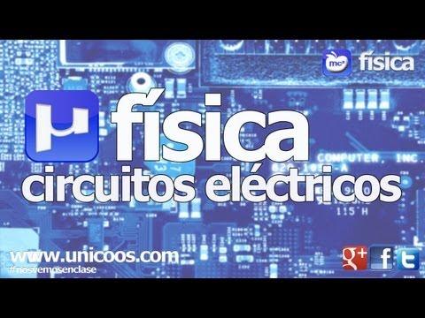 FISICA Circuito electrico SERIE -Potencia util y total 2ºBACHI unicoos OHM rendimiento