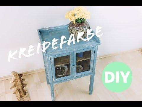 Diy Shabby Chic Alte Möbel Mit Kreidefarbe Streichen