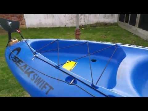SeakSwift Rudder-Skeg Mod for Kayak Fishing