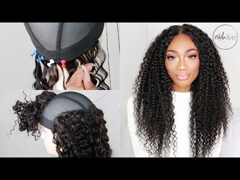 HOW TO MAKE A WIG (WITH A LACE CLOSURE & BUNDLES)   START TO FINISH! • BEAUTY FOREVER HAIR!