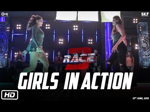 Race 3 | Girls In Action | Behind The Scenes | Jacqueline Fernandez | Daisy Shah thumbnail