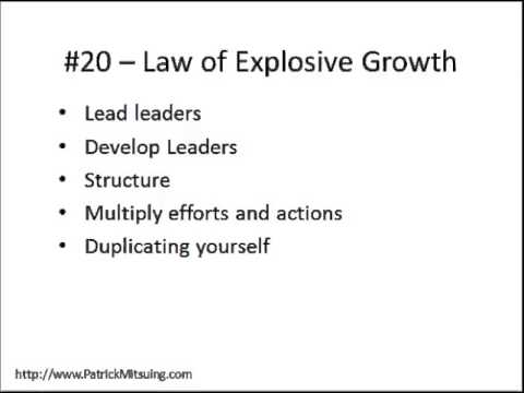 The 21 Irrefutable Laws of Leadership Chapter Summary Part 3
