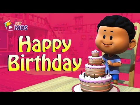 Happy Birthday To You Song with Lyrics | LIV Kids Nursery Rhymes and Songs | HD