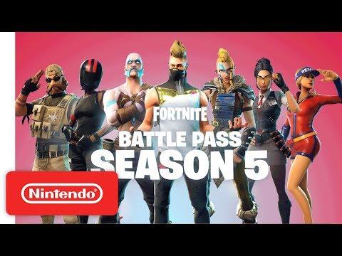 Fortnite   Battle Pass Season 5 Trailer - Nintendo Switch