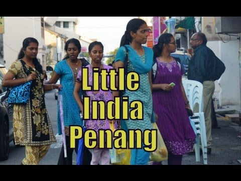 Little India Neighborhood (ethnic Indian enclave) in George Town, Penang, Malaysia