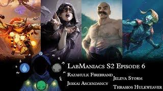 S2 Episode 6: Razahulk Firebrand vs Jeleva Storm vs Jeskai Ascendancy vs Thrasios Hulkweaver