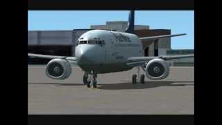 Flight Simulator X (FSX) - Boeing 737 - Rome to Ibiza