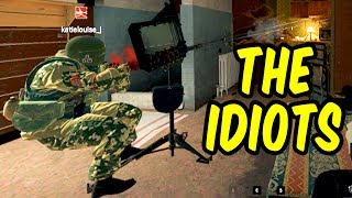 The Idiots - Rainbow Six Siege Funny Moments & Epic Stuff