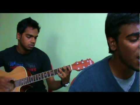 New York Nagaram - Acoustic guitar cover with chords Tutorial...
