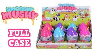 Smooshy Mushy Frozen Delights Series 1 Squishies Blind Bag Full Case Unboxing