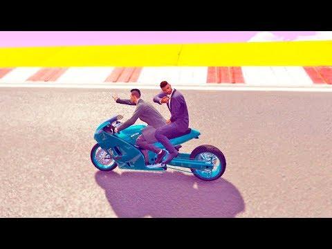 Убегаю С Другом От Самого Опасного В Мире Самолёта! (GTA 5)