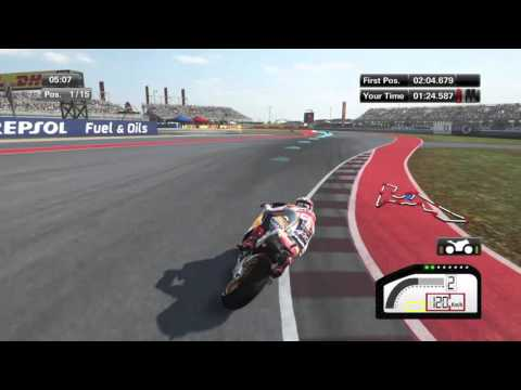 PS4 MotoGP Austin Americas Full Race