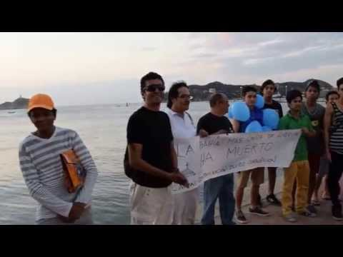 Así se realizó el #FuneralSimbólico de la #Bahía de #SantaMarta