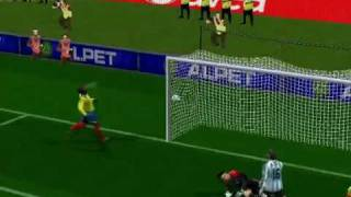 pro evolution soccer Messi Goal