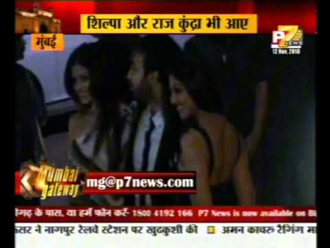 Sanjay Dutt Shilpa Kangna Malaika at Baba Dewan birthday bash with wahid ali khan