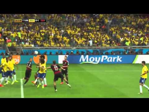 Germany vs Brazil World Cup 2014 7 : 1 Highlights