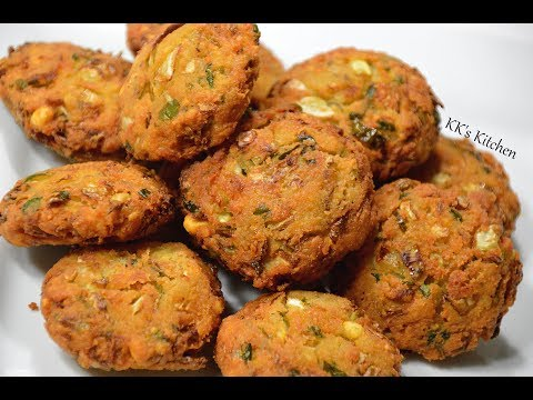 Cabbage Vada I Chana dal cabbage vada | Tea time snack recipe | South indian snack Recipe
