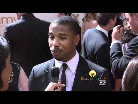 Prime Time EMMY's Red Carpet w/ Michael B. Jordan