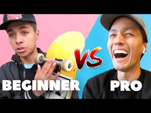 The Differences Between Pro and Beginner Skateboards