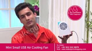 Nano Fan Air Conditioner Cooler