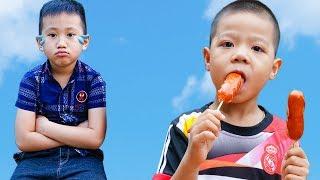 Trò Chơi Đại Ca Khó Tính - Đi Rán Xúc Xích Cho Anh - Bé Nhím TV - Đồ Chơi Trẻ Em Thiếu Nhi