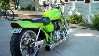 1977 Kawasaki KZ1000 Drag Bike  IN HD