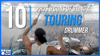 Download Lagu 10 Pros & Cons Of Being A Touring Drummer   Drum Beats Online Gratis STAFABAND