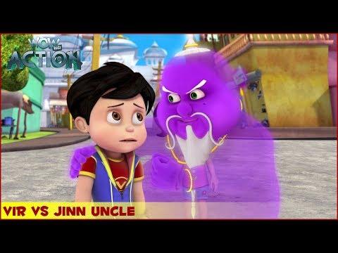 Vir : The Robot Boy | Vir Vs Jinn Uncle | 3D Action shows for kids | WowKidz Action