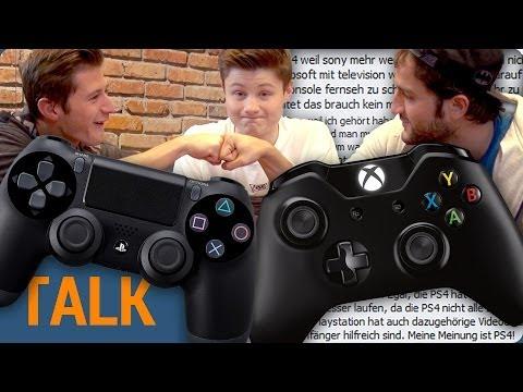 PS4 vs. XBOX One - Der Konsolenkrieg !