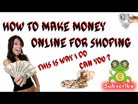 How to make Money online for shopping ✔