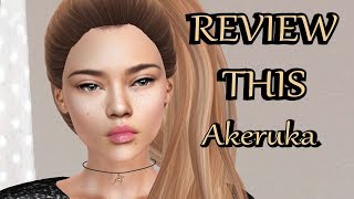 Second Life - REVIEW THIS - AKERUKA Kumiko Bento Head
