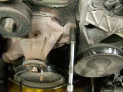 1992 GMC one ton water pump replacement 1
