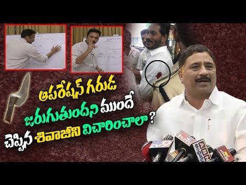 Minister Kalva Srinivasulu reponds to Sivaji's Operation Garuda | ABN Telugu