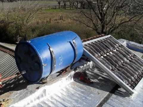 Como crear un calentador de agua casero ecologico