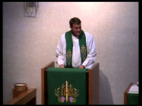 8-31-14 Good Shepherd Lutheran Church Service - 09/01/2014