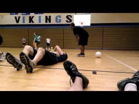 Baloncesto - Pelotazo en toda la cara