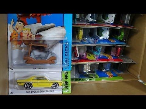 2014 Hot Wheels D-Case Unboxing Factory Sealed Case Code DDN