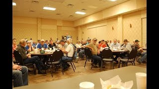 American Digger Magazine's Publisher Butch Holcombe Talks Metal Detecting At The TAMDC Banquet!!