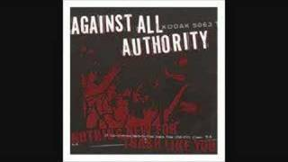 Against All Authority - We Won't Submit