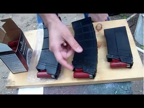 Saiga 12 SGMT (Surefire) vs AGP magazines preliminary review