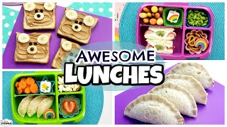 At Home Lunch Ideas ???? Kids REACT + What They Ate