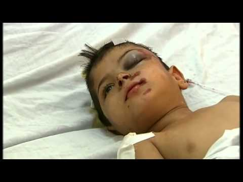 Gaza  Is this a war on children    Channel 4 News